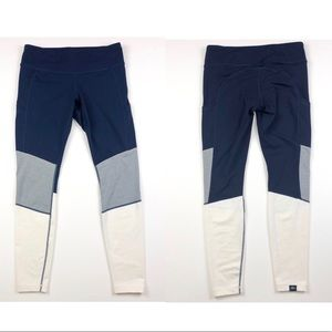 J. Crew x New Balance Colorblock Leggings K296